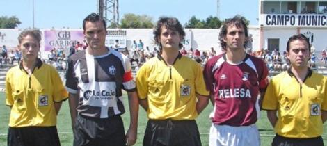 Miranda Torres, de futbolista a árbitro
