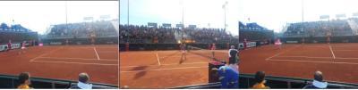 Tita Torró ganó 6-4, 6-2 en su debut en FED CUP
